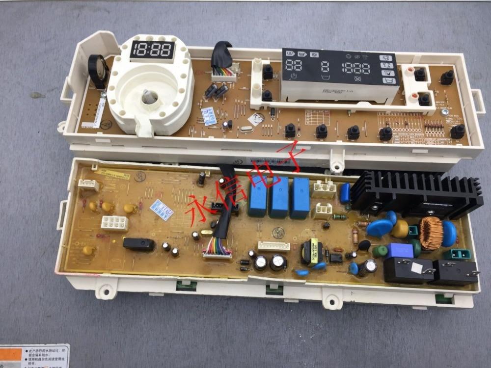 80% new original Samsung drum washing machine motherboard DC92-00651 power board display board все цены