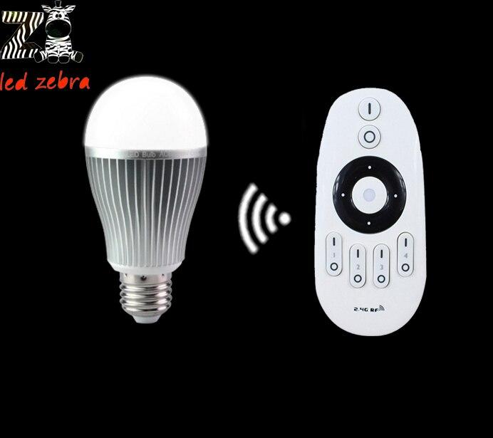 AC85-265v mi. light 2.4G E27 9 w ha condotto la lampadina cw ww led lampada, rf wireless telecomando per cw ww led bulb spedizione liberoAC85-265v mi. light 2.4G E27 9 w ha condotto la lampadina cw ww led lampada, rf wireless telecomando per cw ww led bulb spedizione libero