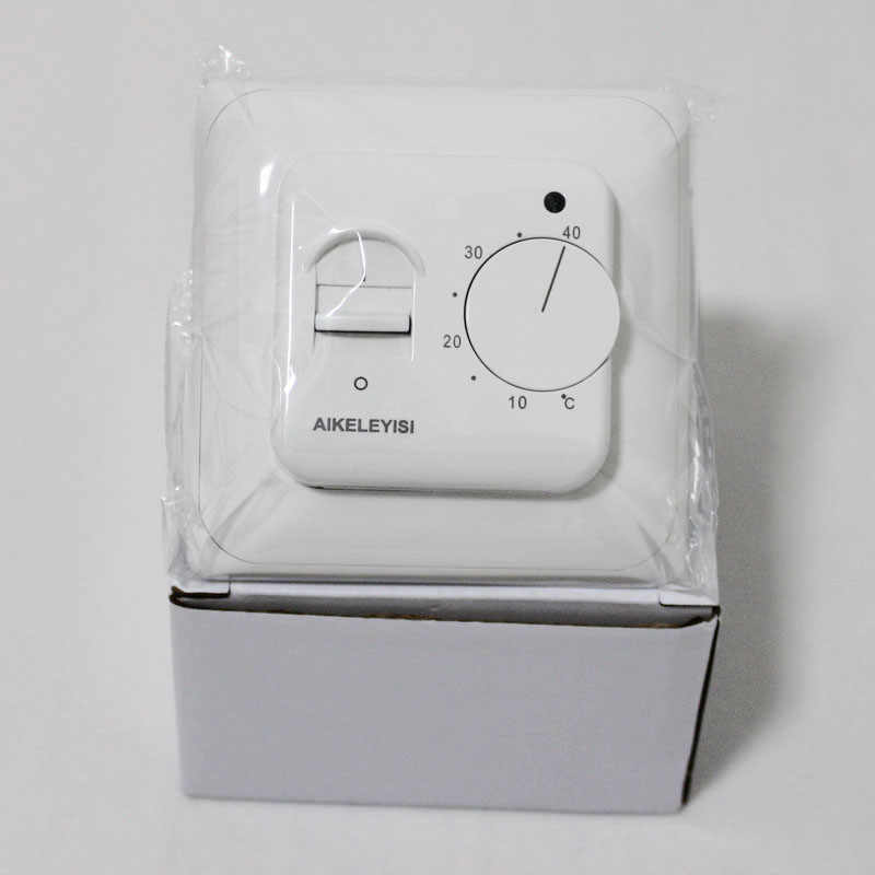 Temperature Controller  Manual Operation for Floor Heating Controller Indoor Warm Thermostat