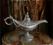 Rare delicate Legend Magic Genie Light OiL Lamp Pot 2PCS Russian font b tea b font