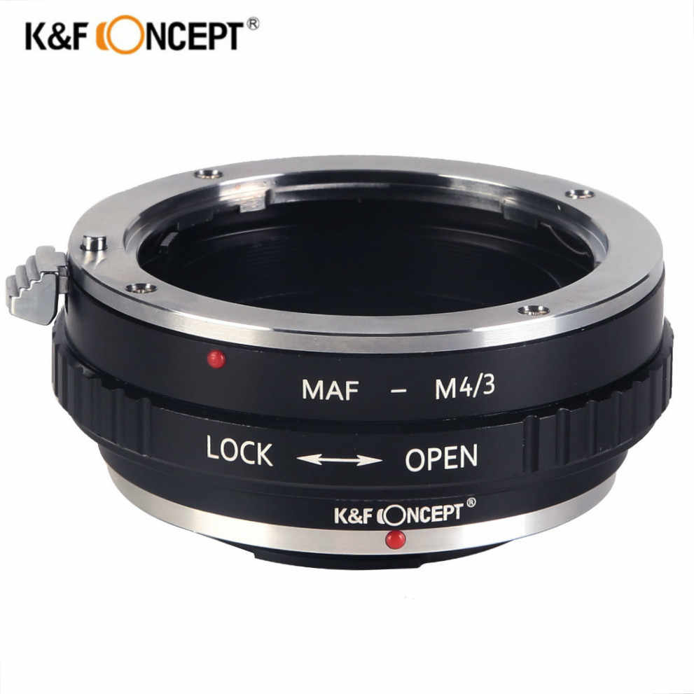 K/&F Concept Lens Mount Adapter Compatible with Minolta MD Mount Lens to Micro 4//3 Mount Camera