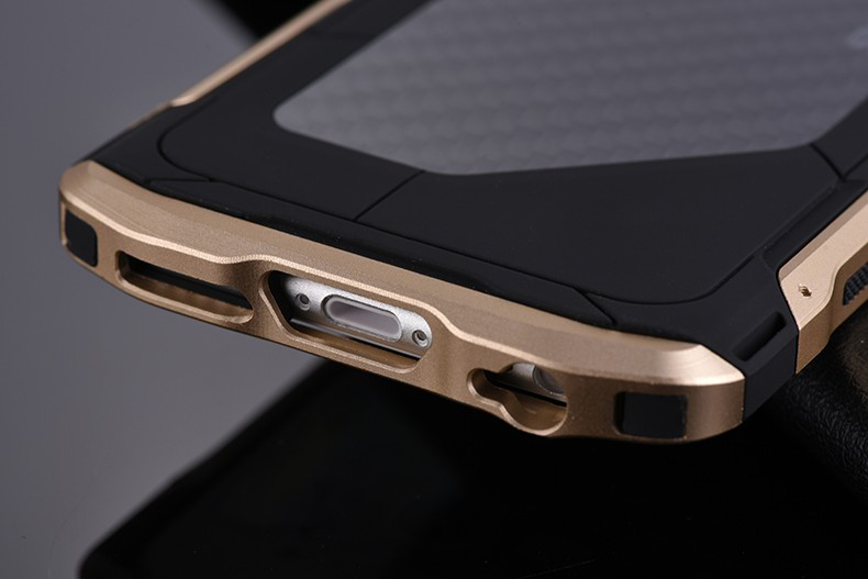 new concept 617ab bf133 US $19.9 |Ultra thin Metal Case For iPhone 6 6s Plus 7 8plus Sector PRO Men  Cool Cover For iPhone X 10 Cell Phone Case Aluminum Carbon-in Fitted Cases  ...