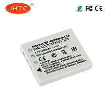 JHTC 1Pc 1200mAh NP-40 NP-40N Battery for BENQ DLI-102 FUJIFILM NP-40 NP-40N KODAK KLIC-7005 PENTAX D-LI8 D-Li85 SLB-0737