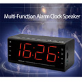 LEADSTAR Multi-function Speakers Portable Wireless altavoz bluetooth Alarm Clock 5.5 inch Screen Support TF Card/USB Disk Read
