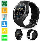 2018 Bluetooth Smart Watch Phone Mate Full Round Screen SIM For Android For IOS drop shipping june6 p30