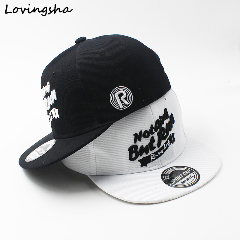 LOVINGSHA Boy   Baseball     Caps   Letter Design 3-8 Years Old Kid Snapback   Caps   High Qaulity Adjustable   Cap   For Girl CC085