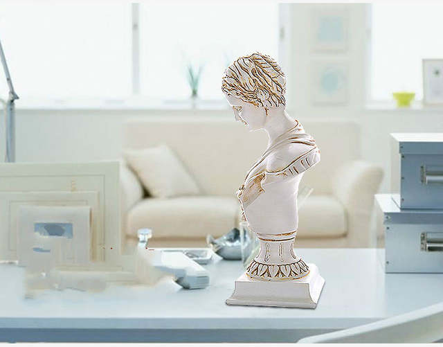 Venus Avatar Girl Resin Crafts Sculptures Gift Figurine Bouddha Statues  Jardin Home Decor