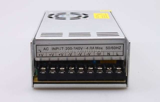 AC/DC Switching Power Supply with 85 to 265V Input Voltage;27V/350W output, CE approved