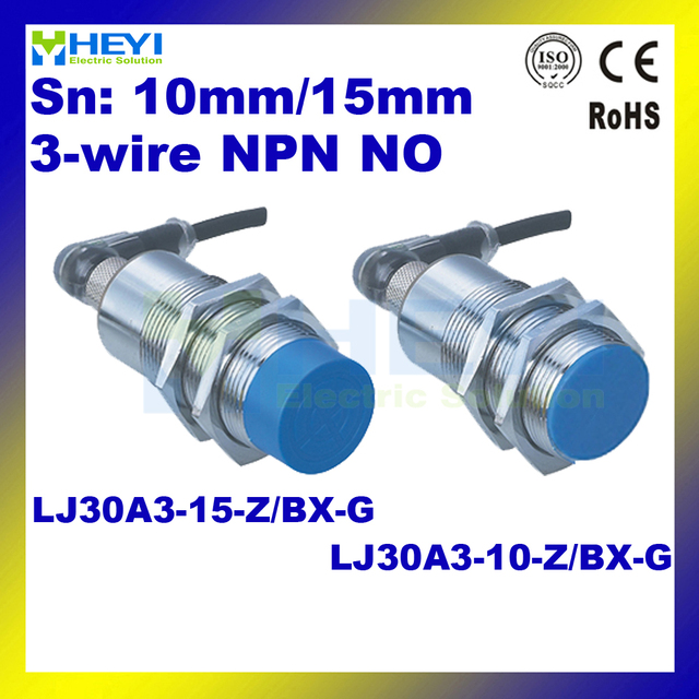 LJ30A3 10 Z/BX G & LJ30A3 15 Z/BX G 6 36VDC NO NPN M30 air plug ...