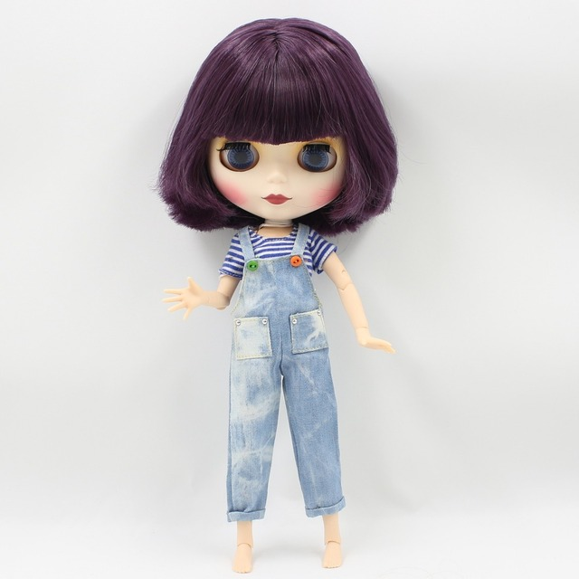 Tijelo zgloba ljubičaste lubenice ICY Neo Blythe Purple Bob