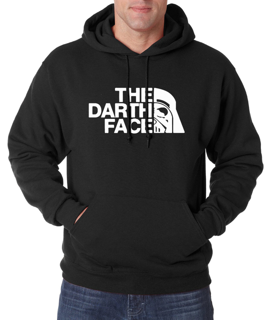 Star Wars Men Hoodie – The Darth Face