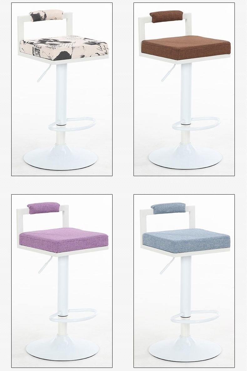 bar chair PU leather seat dining room lifting rotation stool bedroom red purple green chair free shipping baby seat inflatable sofa stool stool bb portable small bath bath chair seat chair school