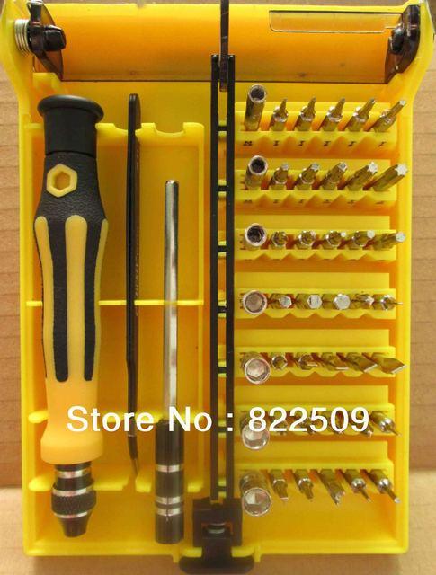 45-in-1 Professional Hardware Screw Driver Tool Kit JK-6089B Freeshipping Dropshipping Wholesale