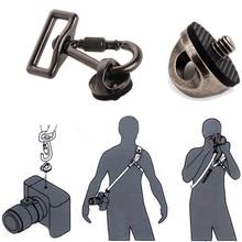 SLR DSLR Камеры 0.25in Винт Подключение Адаптера Крюк Для Плеча Sling Ремешок