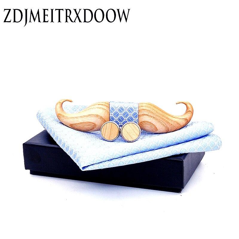 3D Beard Bow Tie Vintage Floral Wooden Bow Tie Bird Pattern Bowknots Collar Gravatas Cravat Ties Classic Wood Bowtie For Mens