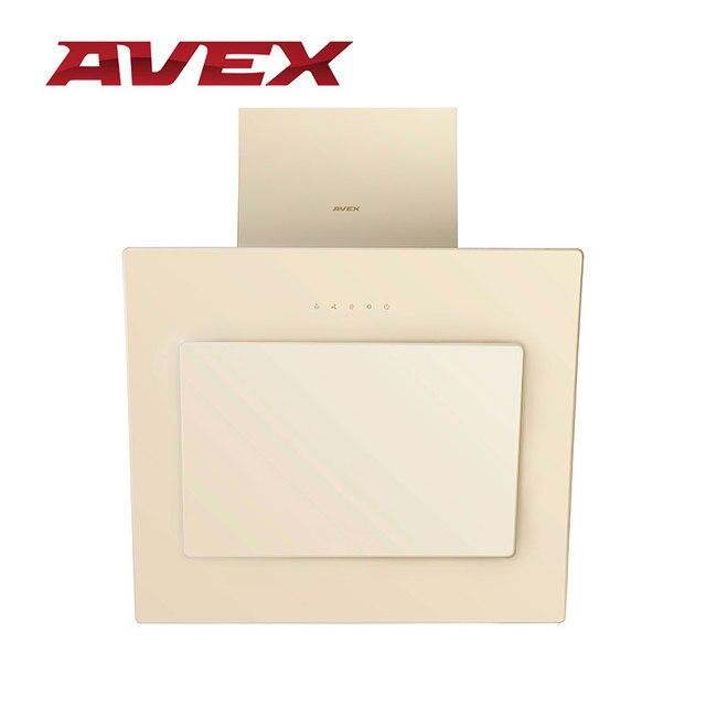 Кухонная вытяжка (воздухоочиститель) AVEX NM 6060 Y, закаленное стекло
