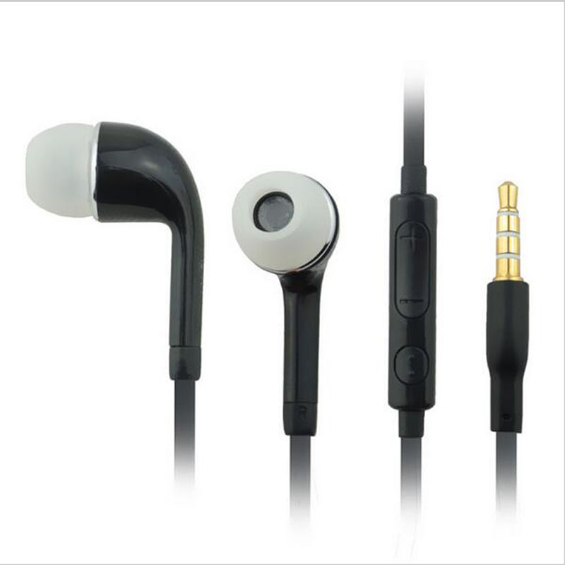 3.5mm Headset Earphone Microphone Volume Control for Samsung Galaxy S5 S4 S3 mini Ace Tab Note 4 3 2 Handfree Headphone Earbuds stylish headset w microphone volume control for dell mini 5 streak 3 5mm jack 120cm cable