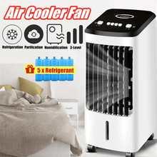 70 Вт портативный кондиционер вентилятор увлажнитель охладитель охлаждения 220 В кондиционер приуроченный охлаждающий вентилятор увлажнитель+ подарок