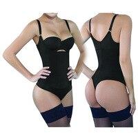 Body Shaper Bodysuit Women Shapewear Bustier Underwear Sexy Ladies Thong Latex Waist Trainer Slimming Bodycon Corsets