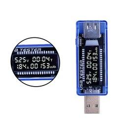 Digital usb mobile power charging current voltage tester meter mini usb charger doctor voltmeter ammeter qc2.jpg 250x250