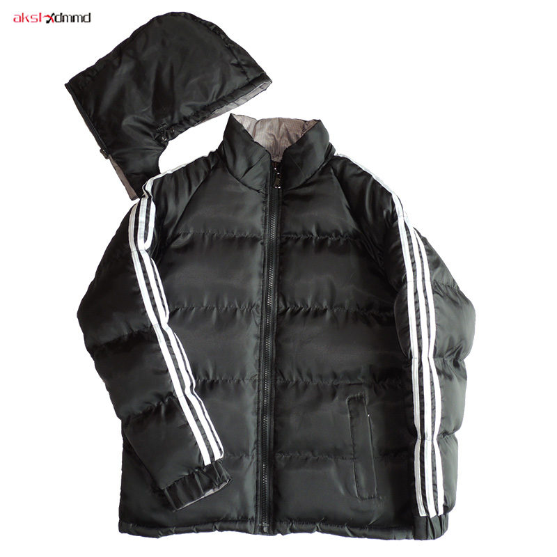 2019 New Women Winter Cotton Padded Coat Short Loose Jacket Black Casual Outer Sports Warm Outwear Korean Style   Parkas   AC307