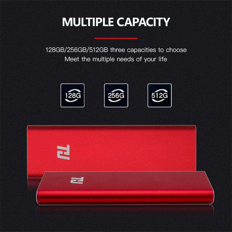 Image 5 - THU Portable SSD 128g 256g 512g 1TB External Solid State Drive USB3.0 400MB/s 3 YEARS warranty for PC Laptop Notebook-in External Solid State Drives from Computer & Office