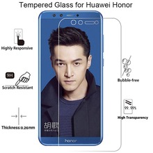 Transparent Screen Glass for Huawei Honor 7 V8 8 Pro 7S Tempered 10 Lite V9 Play View on 9