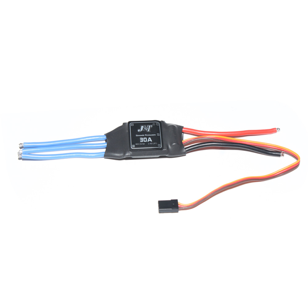 JMT Simonk Firmware 30A ESC Electric Speed Controller with 5V 3A BEC for 2 to 4s Lipo Battery F18203/-4/-6 simonk 30a 40a 2 4s brushless esc speed control for multicopter