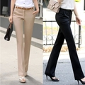 Plus Size Trousers Women Pants 2016 Spring Summer Casual OL Formal Harem Pants Women Office Dress Pants Flare Trousers