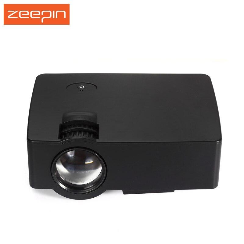 E08 LCD Mini Home Projector Multimedia Cinema LED HD Technology Projector LCD Technology Support AV VGA USB Home Theater Video