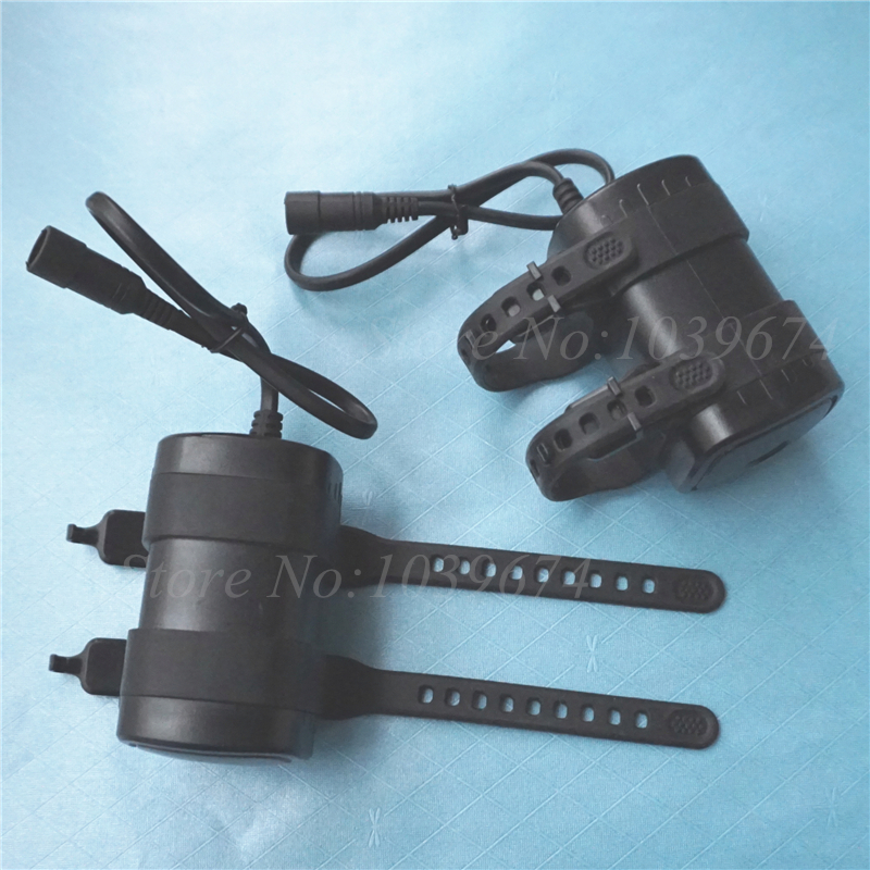 7.4V Waterproof 8.4V 6000MAH Li ion 18650*4 Chargeable Battery Power Source DC5.5 Plug for Bike Flashlights