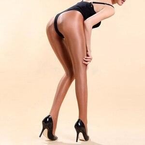 Image 3 - Trajes de baile de Jazz para mujer, Sexy, club nocturno, cantante, escenario, Beyonce, rendimiento, pantimedias gruesas y brillantes, reflectantes, DN1661