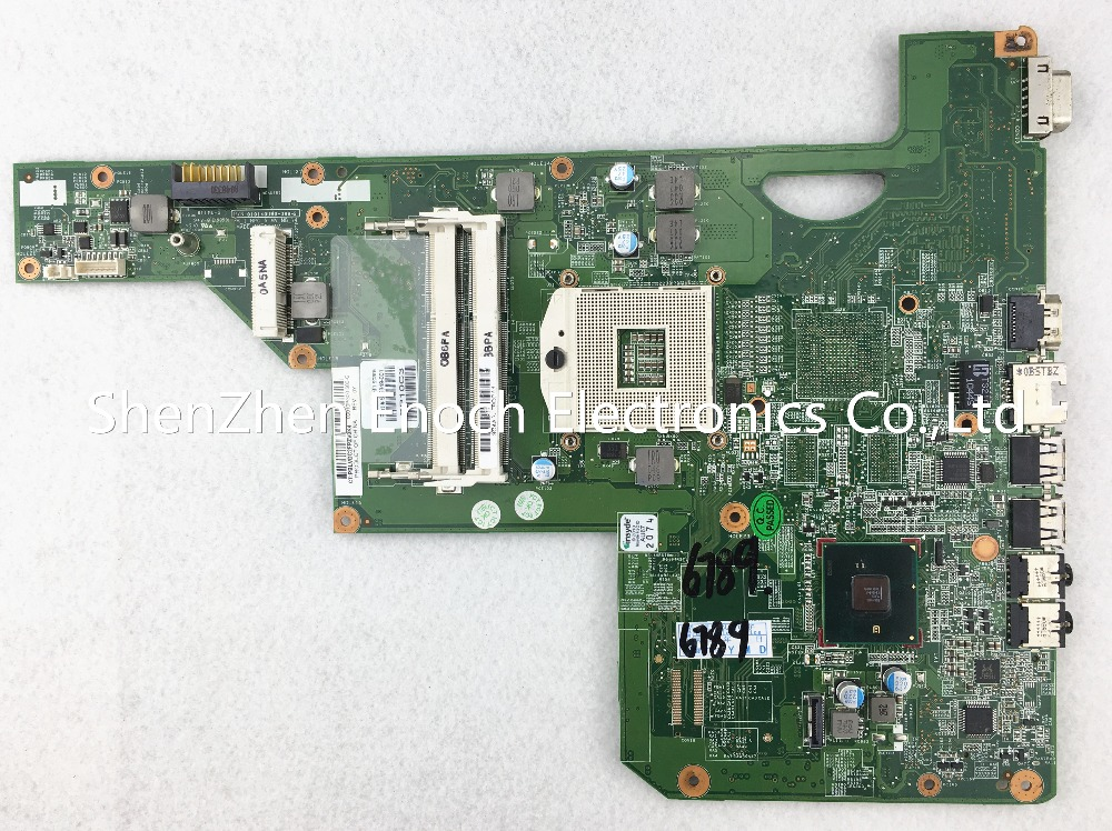 615849-001 for HP CQ62 CQ72 G62 G72 laptop motherboard integrated 010140U00-388-G HM55 MAIN BOARD   stock No.191 for hp g62 g72 laptop motherboard with graphics 615848 001 01013y000 388 g