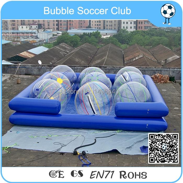 Sondage gonflable bon marché de natation avec la boule de l'eau, piscine gonflable de boule de l'eau