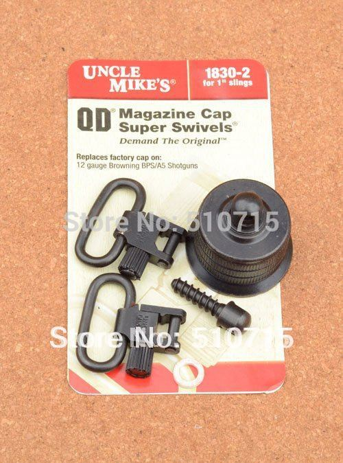 Hunting Shooting Gun Sling Qd Super Swivels Browning 12 Gauge Bps / A5 Shotguns Cap Swivels 1830-2 M6473