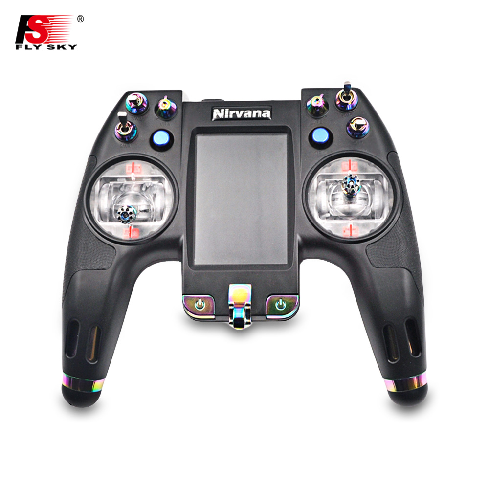 Flysky FS - NV14 2.4G 14CH Nirvana Transmitter With IA8X Receiver One Small Single And One Larger Dual Antenna Receiver RC Parts