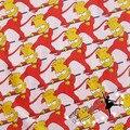 50*145 см демон Лос Симпсоны Мультфильм Серии ткань лоскутное хлопчатобумажная ткань для Ткани Детей Постельные Принадлежности домашний текстиль Ткани тильда Куклы