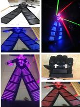 LED Costume /LED Clothing/Light suits/ Robot Kryoman robot/ david guetta robot Size/ color  customized