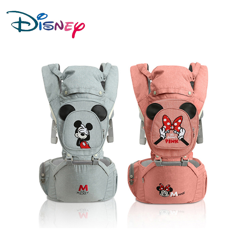 Disney Baby Carrier Ergonomic Toddler Backpack Hipseat For Newborn Baby Kangaroos Breathable Front Facing Carriers 2019 New