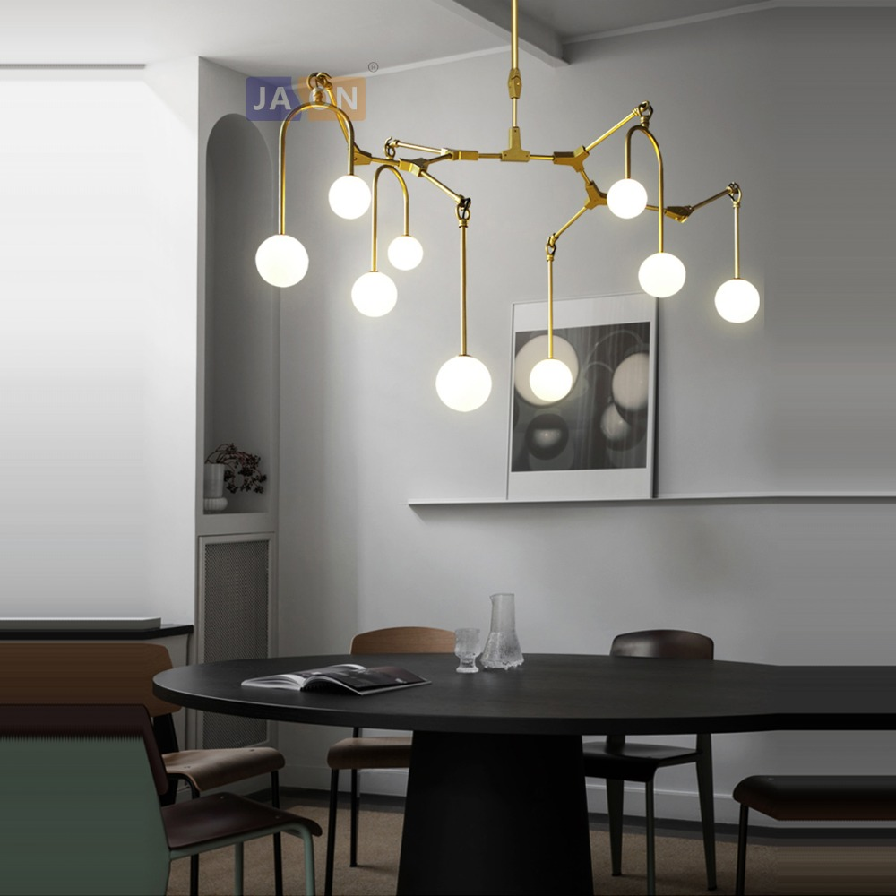 g4 led Postmodern Iron Glass Gold Black designer LED Lamp LED Light.Pendant Lights.Pendant Lamp.Pendant light For Dinning Roomg4 led Postmodern Iron Glass Gold Black designer LED Lamp LED Light.Pendant Lights.Pendant Lamp.Pendant light For Dinning Room