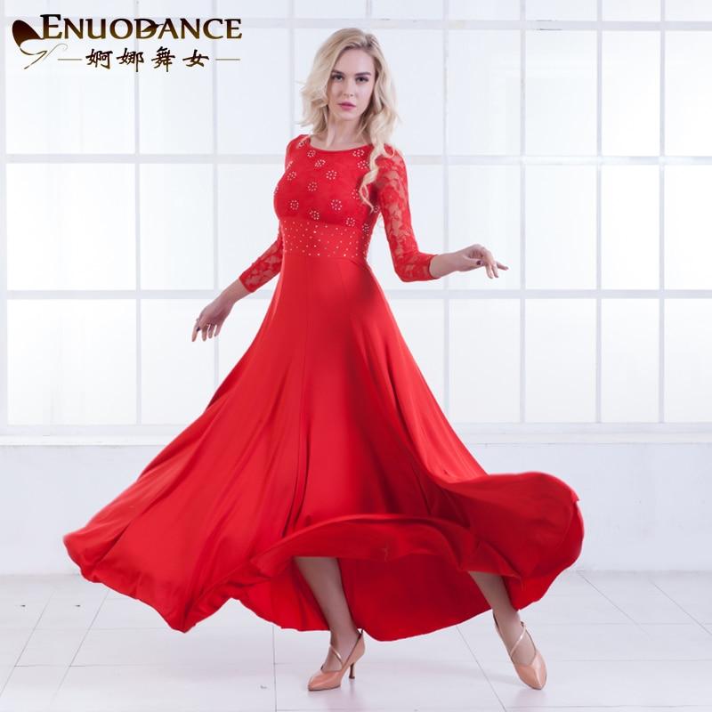 New Ballroom Waltz Modern Dance Dress Ballroom Dance Training Dresses Standard Ballroom Dancing Clothes Tango Dress