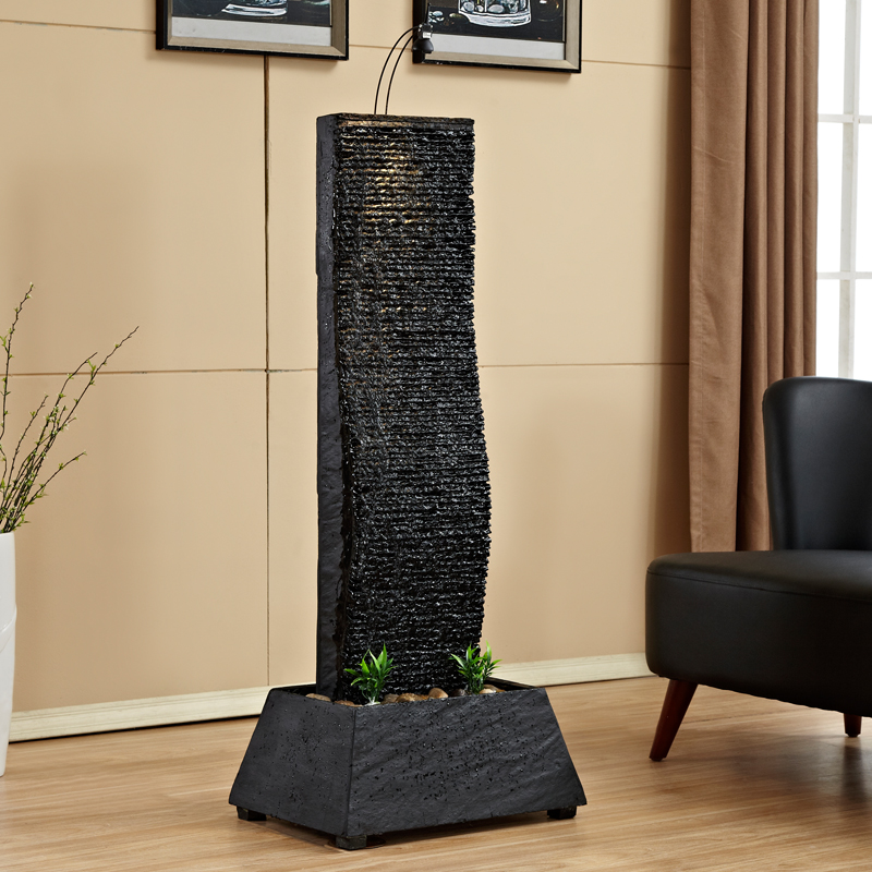 Living room water fountain