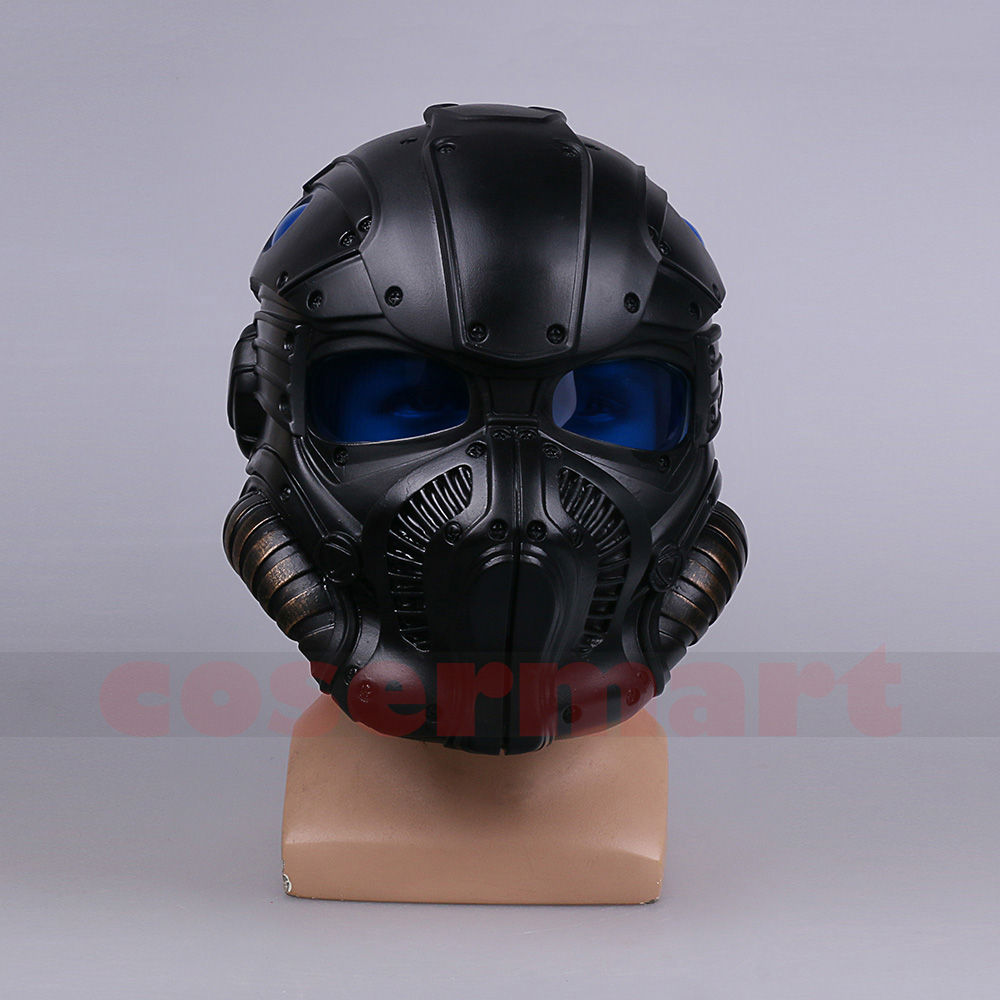 Gears of War Helmet Head Complete Game Cosplay Resin Mask Costume Accessories Adult Format