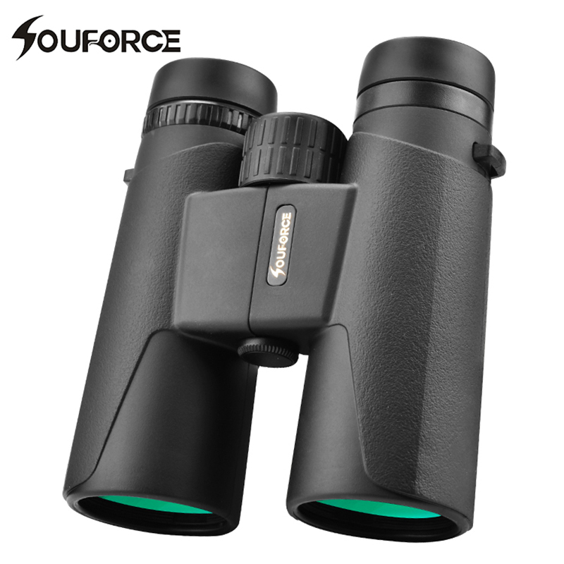 8X42/10X42 Binoculars Telescope Multi Coated Large Viewing Angle Professional Hunting Camping For Outdoor Watching