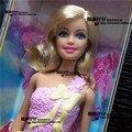 Бесплатная Доставка, Рождественский Подарок, Девушка Подарок На День Рождения Игрушки Оригинальная Кукла Бабочка Фея кукол geninue кукла аксессуары Для Barbie кукла