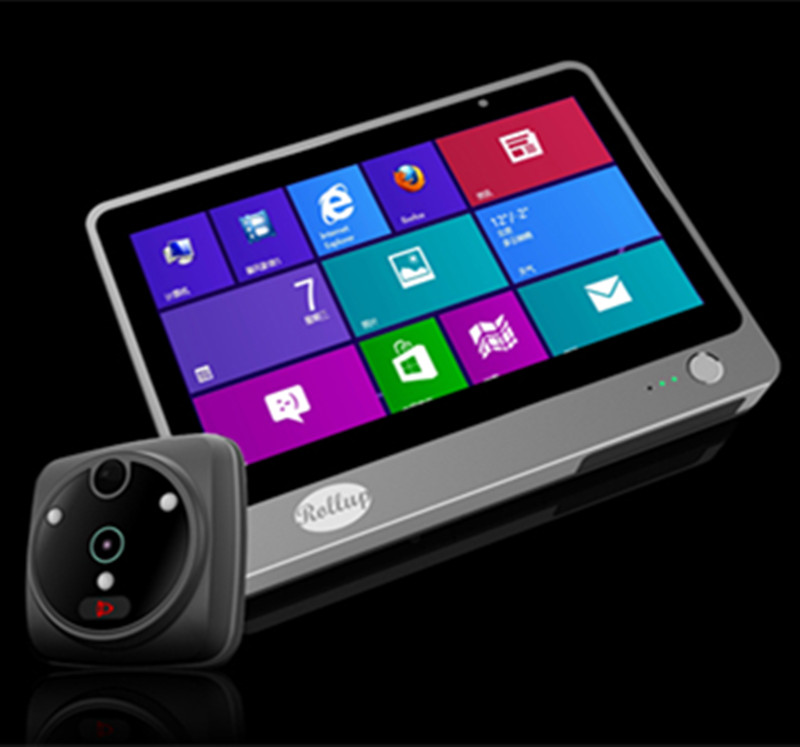 7 Polegada 2MP WIFI/GSM Interfone Telefone Video Da Porta Peephole