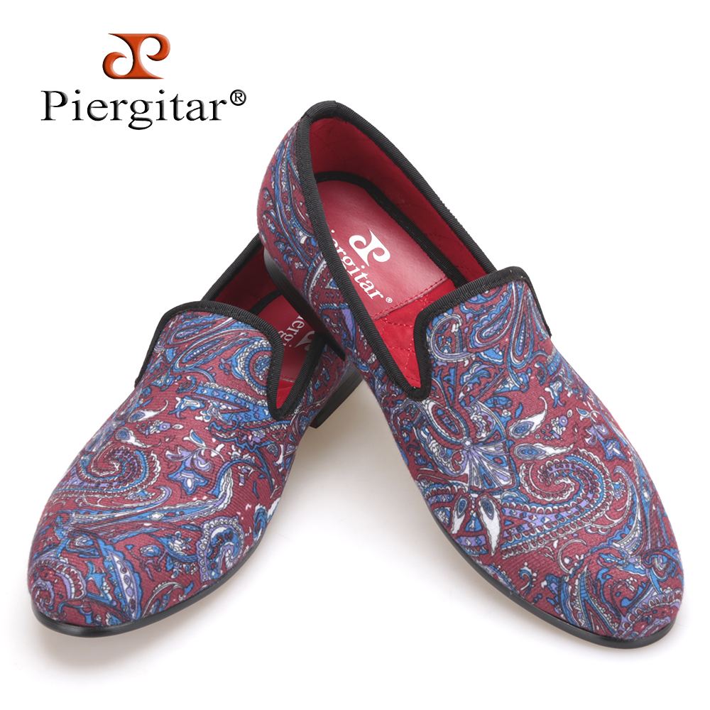 Pierigtar 2017 Mixed colors Stretch Fabric Men Shoes Men Loafers Smoking Slipper Men Flats Size US 4-17 Free Shipping flower lattice velvet fabric men shoes men smoking slipper prom and banquet male loafers men flats size us 4 17 free shipping