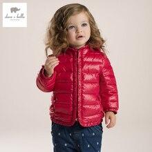 DB2929 дэйв белла осень зима детские пальто девочка пуховик ватник девушки верхняя одежда девушки пуховик пуховик