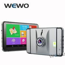 7 дюймов андроид Gps навигация 512 МБ 8 ГБ 1080 P автомобильный видеорегистратор видеокамера грузовик Gps бесплатные карты Quad двухъядерный планшет пк автомобильный Gps