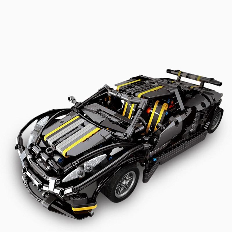 1177Pcs Nieuwe MOC Serie Balisong Sport Auto Model Building Kits Set Educatief Blokken Model Auto Speelgoed Kinderen Gift
